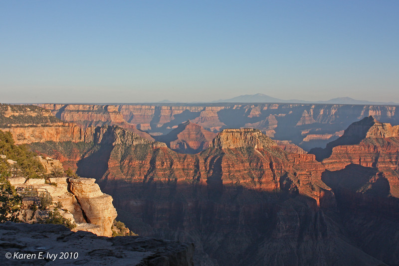 Grand Canyon from the North Rim - my first shot