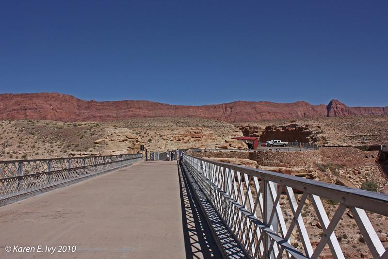 Navajo Bridge across the Colorado
