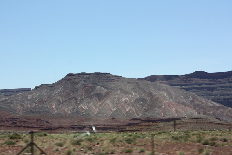 Coming into Mexican Hat, Utah