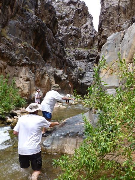 Hakatai Canyon I believe at mile 111.5.
