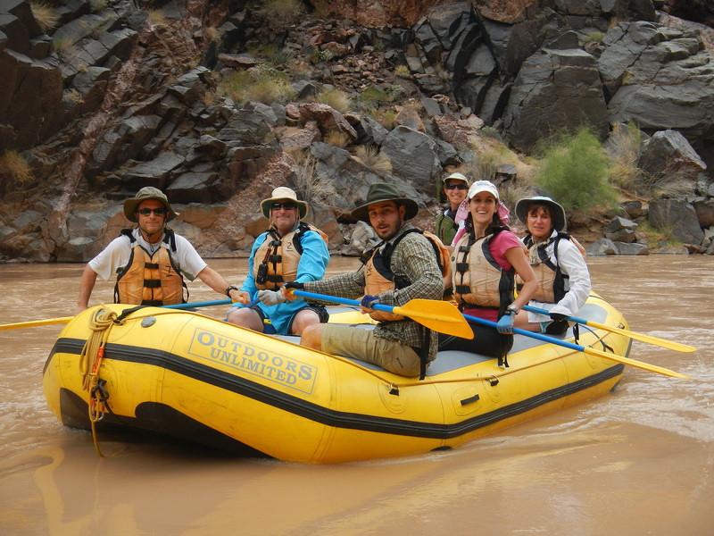 Heather's boat with Artie, Ira, Bertrand, Kathryn and Karen.