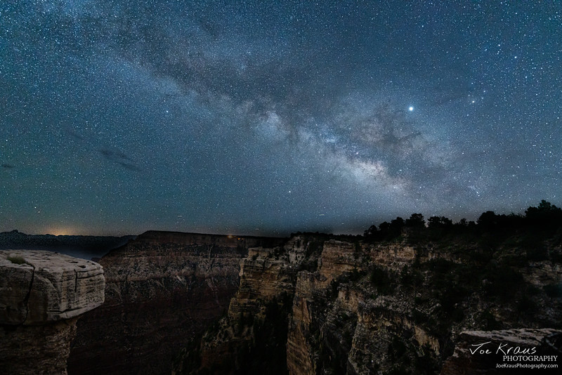 Milky Way over Mather Point