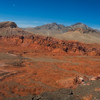 """This martian-like landscape was used in the movie """"Total Recall"""", according to our pilot."""