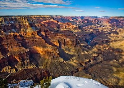 Grand Canyon south rim, National Park, Arizona, USA