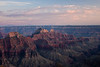Sunset on the north rim of the Grand Canyon.<br /> <br /> Photo by Deb