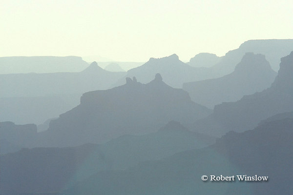 Evening, View from Desert View, South Rim, Grand Canyon National Park, Arizona, United States, North America