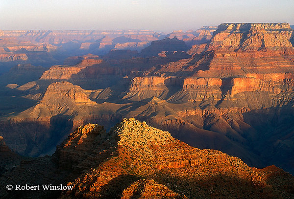 Sunrise From Desert View, South Rim, Grand Canyon National Park, Arizona, United States, North America