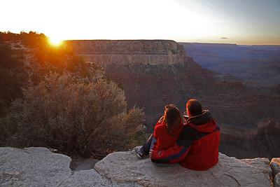 Sunset at Grand Canyon