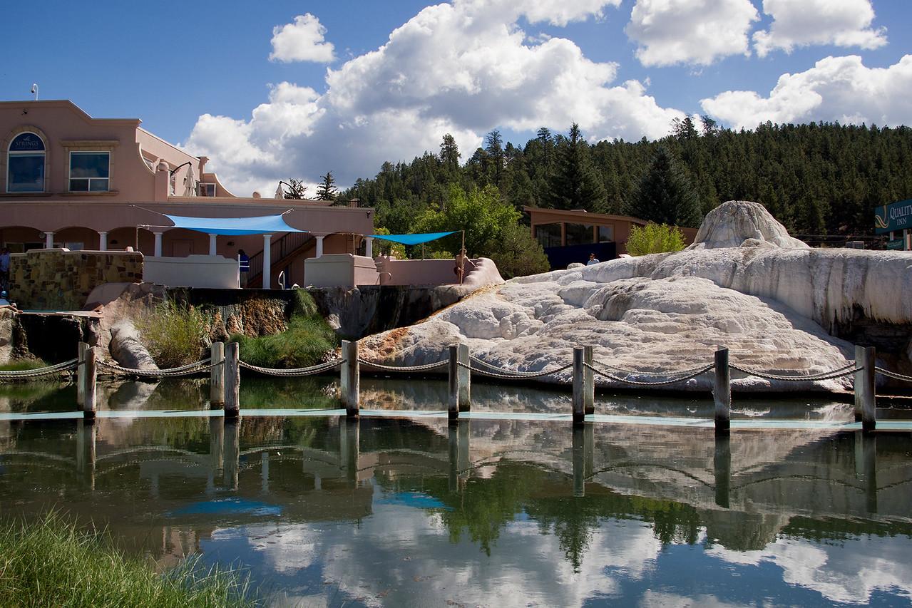 Spa at Pagosa Hot Springs, Pagosa Springs, Colorado.