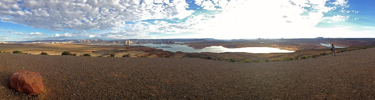 lake_powell_panorama<br /> Rita's panorama of Lake Powell, Arizona.