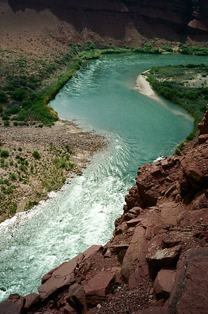 We took those rapids the next day. We were in an area heavy with ancestral Pueblan ruins and artifacts. The area could have supported quite a large population.