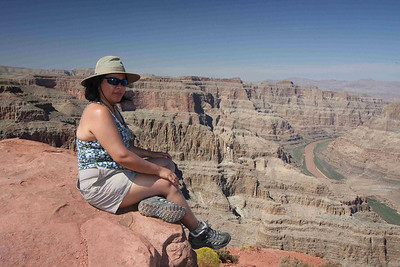 Sittin' on top of the world... or at least on top of the Grand Canyon.