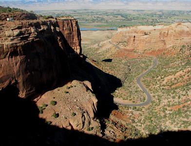 Colorado National Monument near Grand Junction.September 29