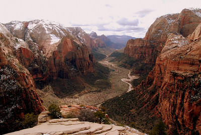 Atop Angel's Landing, Zion.