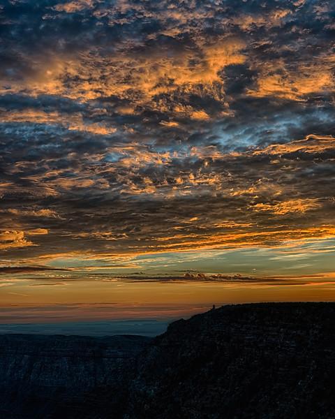 Desert Tower sunrise