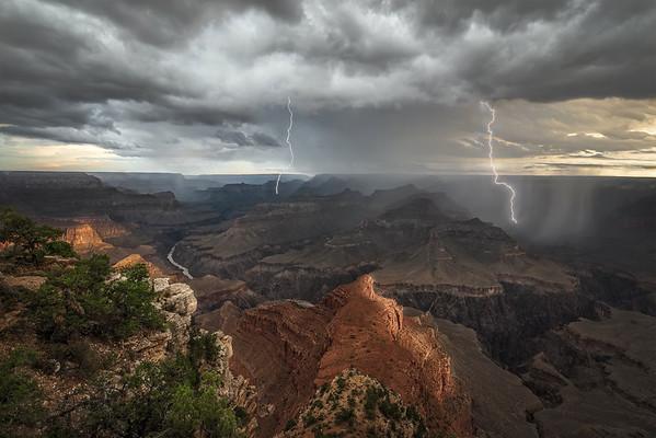 Sunrise Thunderstorm