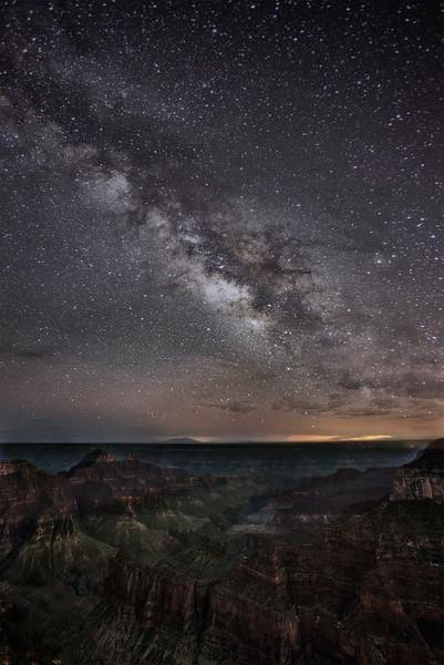 Milky Way, north rim