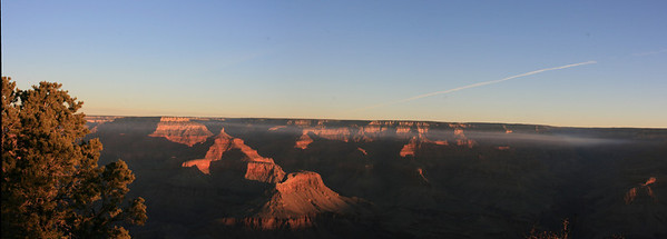 Sunrise at Grand Canyon - Panorama 367-370