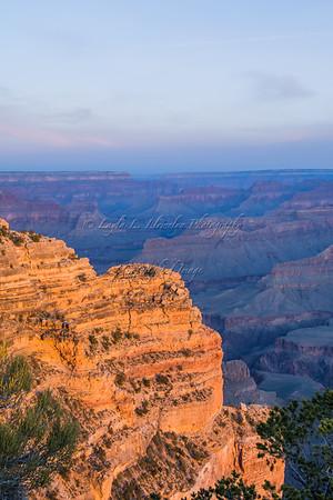 Canyon Profiles at Sunrise