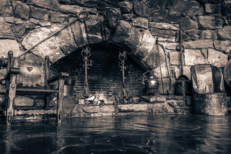 interior of Hermit's Rest