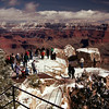 Mather Point is named for Steven Mather, Director of the National Park Service that a year.