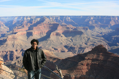 Ullas at Grand Canyon