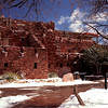 Mary Elizabeth Colter, a Santa Fe employee, built Hopi House in 1905.