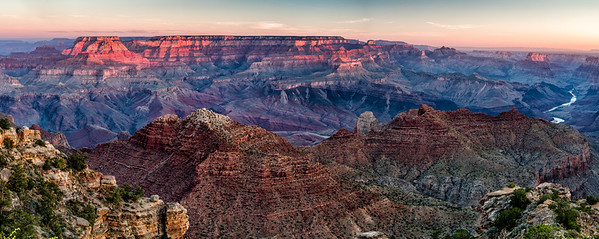 Sunrise Navajo point, Grand Canyon
