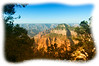 View from the North Rim of the Grand Canyon in Arizona; detail is best viewed in a larger size