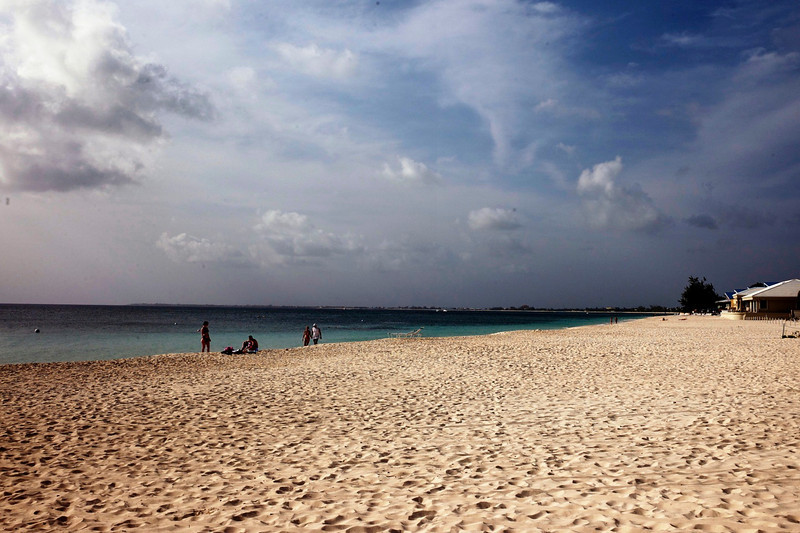Seven Mile Beach on Grand Cayman Island