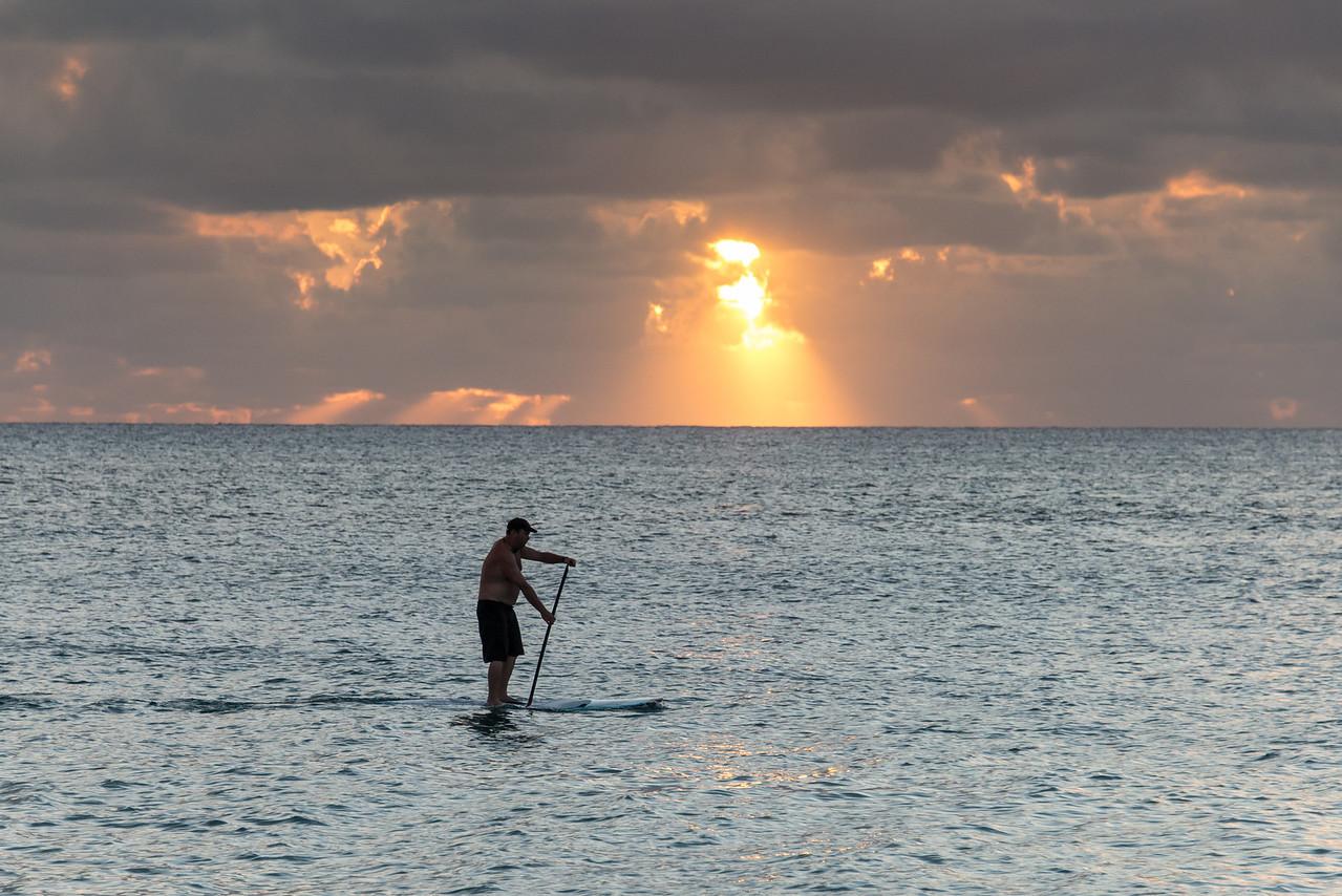 Views along 7 Mile Beach in Grand Cayman - November 2013