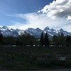 Grand Tetons from Moose, WY