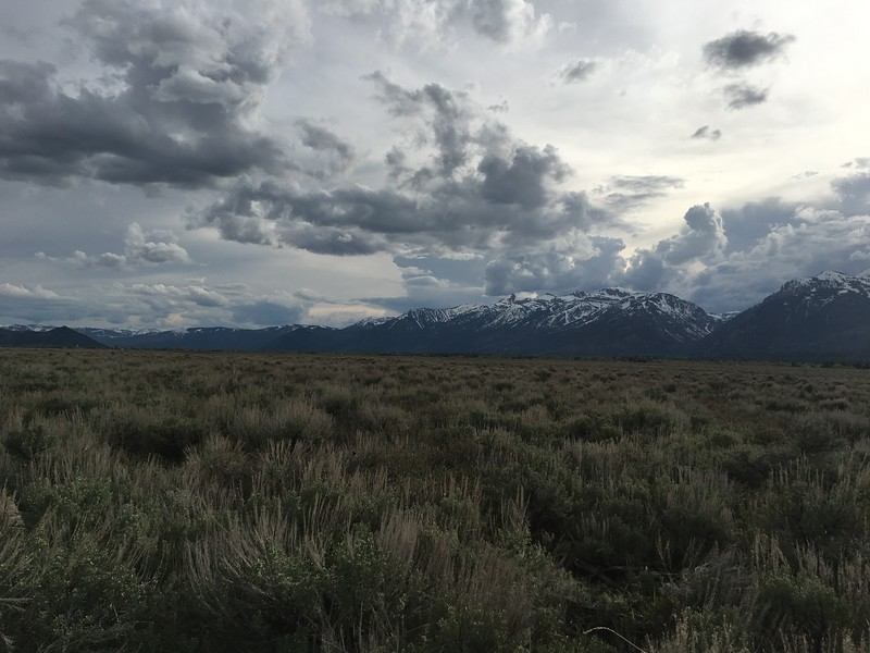 Southern Tetons from the Hole