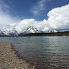 Tetons from Jackson Lake