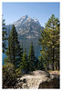 View across Jenny Lake.<br /> <br /> Grand Teton National Park