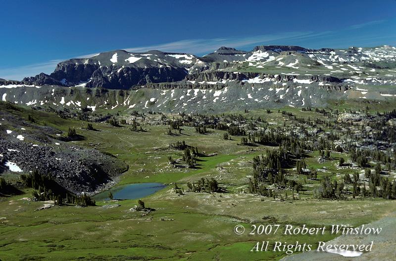 Alaska Basin, Grand Tetons, Grand Teton National Park, Wyoming, USA, North America
