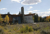 Interesting architecture of the visitor center in Grand Teton