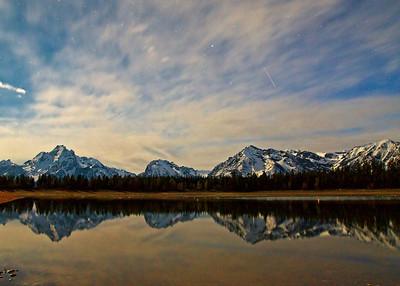 Jackson Lake, Moonlight