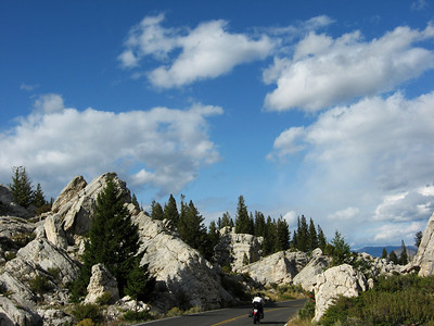 Nearing Mammoth Hot Springs