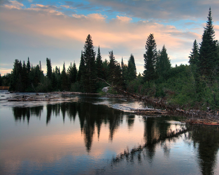 Wyoming Sky Mirror
