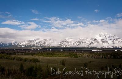 Teton Mountain Range Grand Teton National Park