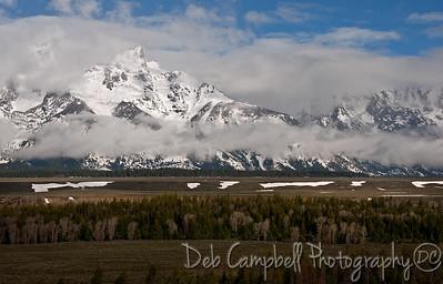 Grand Teton Mountain Range Grand Teton National Park