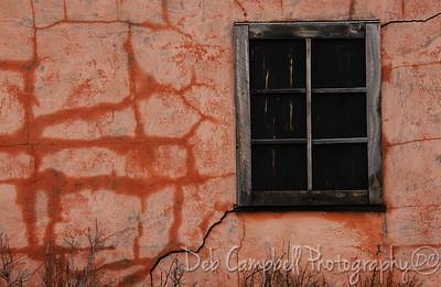 Pink House close up Mormons Row Grand Teton National Park