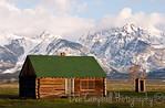 Mormon Row Cabin Grand Teton National Park