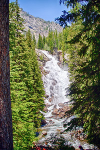 Hidden Falls near Jenny Lake