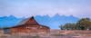 Moulton Barn #3, Grand Tetons; 2.39x1 pano