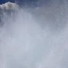 Blast from a geyser
