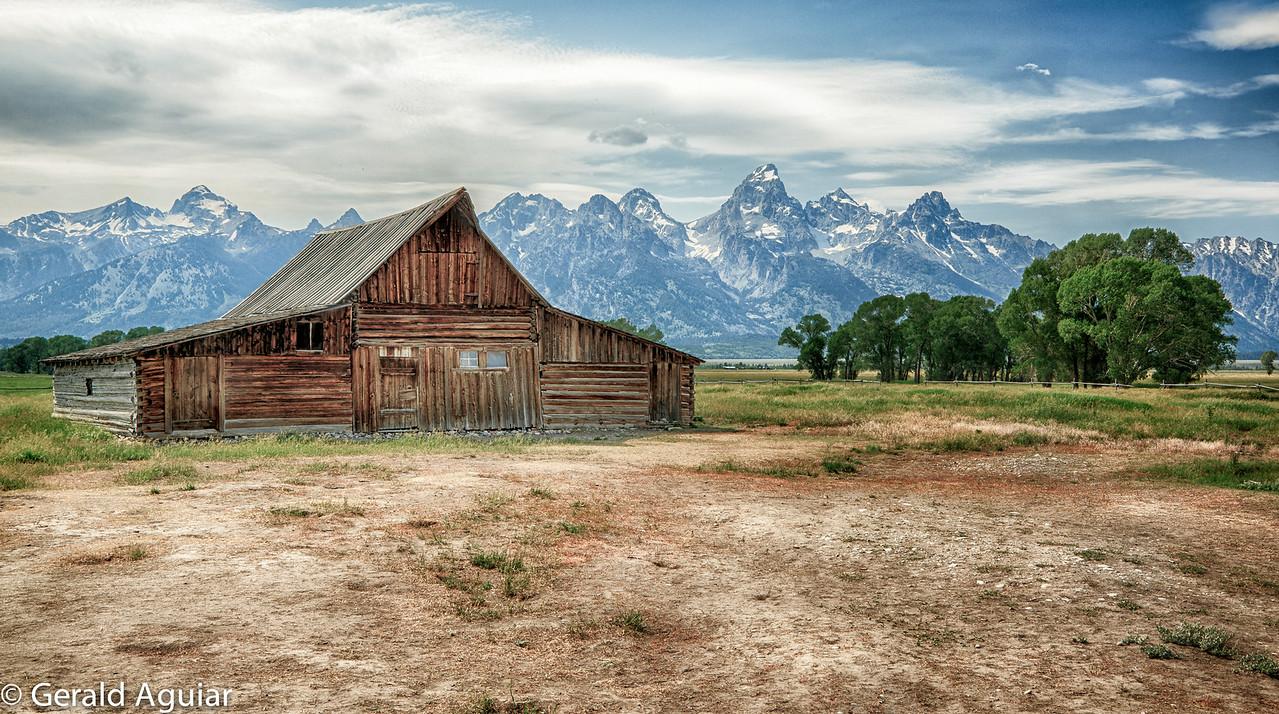 T. A. Moulton Barn on Mormon Row