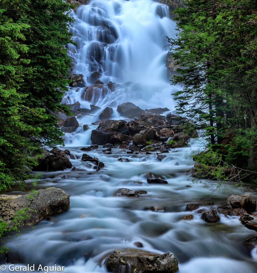 Hidden Falls Above Jenny Lake