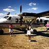 Arriving at The Grand Canyon North Rim airstrip